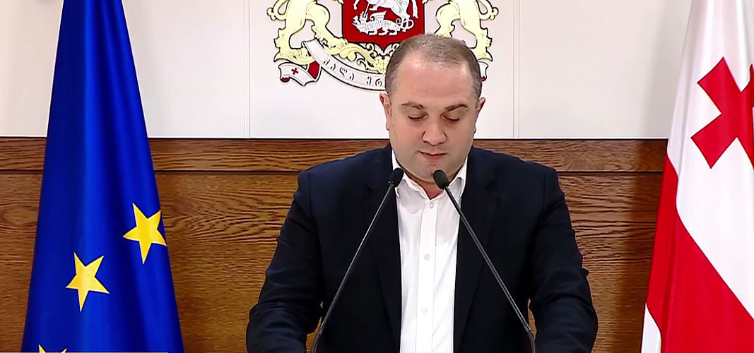 Georgian government's special briefing about new regulation